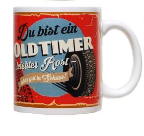 """Retro-Becher """"Auto"""" Motiv 03 Oldtimer"""