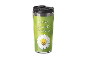 Thermo Becher Thermobecher Spruch Gute Laune