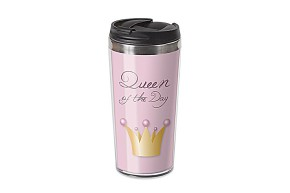 Thermo Becher Thermobecher Spruch Queen