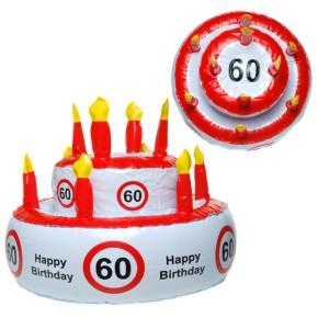 Geburtstagstorte 60 zum 60. Geburtstag