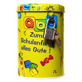 """Spardose """"Schulanfang"""" als Geschenk für Kinder"""