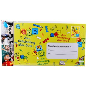 "Riesen-Umschlag ""Schulanfang"" Geschenk zur Einschulung"