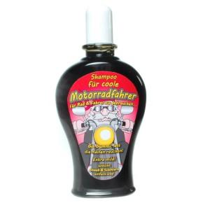 """Shampoo """"Für Motorradfahrer"""" (Grundpreis 19,85 Euro)"""