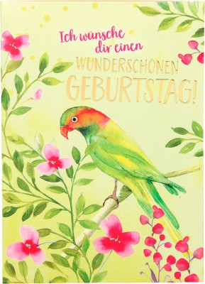 Depesche Portofino Klappkarten Geburtstagskarten 019 - Ich wünsche dir einen wunderschönen...