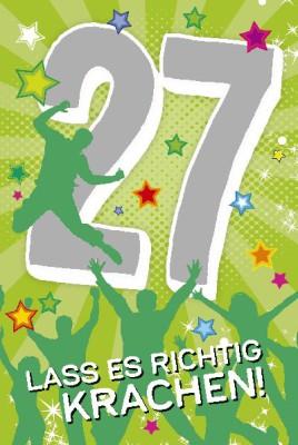 Depesche Zahlenkarten mit Musik 27 Lass es richtig krachen!