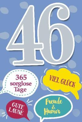 Depesche Zahlenkarten mit Musik 46 Viel Glück, gute Laune, Freude...
