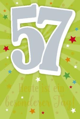 Depesche Zahlenkarten mit Musik 57 Heute ist ein besonderer Tag!