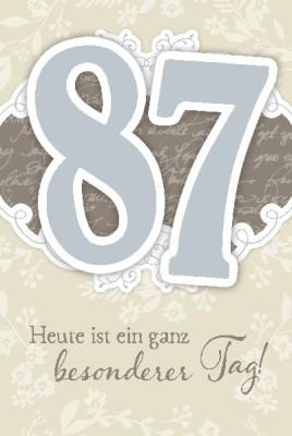 Depesche Zahlenkarten mit Musik 87 Heute ist ein ganz besonderer Tag!