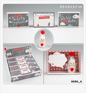 Weihnachtsengel in der Schachtel 1 Engel Modell sortiert