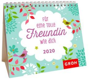 Groh Mini-Monatskalender 2020 für tolle Freundinnen