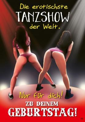 Musikkarten mit Überraschung 048 Die erotischste Tanzshow der Welt!