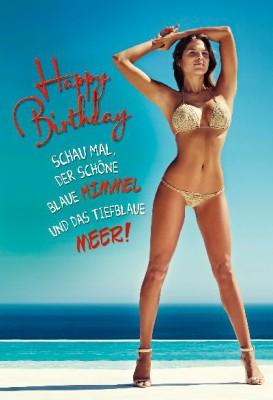 Depesche Hans und Grete 3D Klappkarte Happy Birthday! Schau mal der schöne....