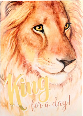 Depesche Portofino Klappkarten Geburtstagskarten 055 - King for a day!