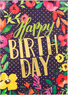 Depesche Portofino Klappkarten Geburtstagskarten 043 - Happy Birthday