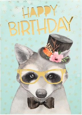 Depesche Portofino Klappkarten Geburtstagskarten 051 - Happy Birthday
